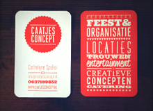 corporate identity Caatjes Concept
