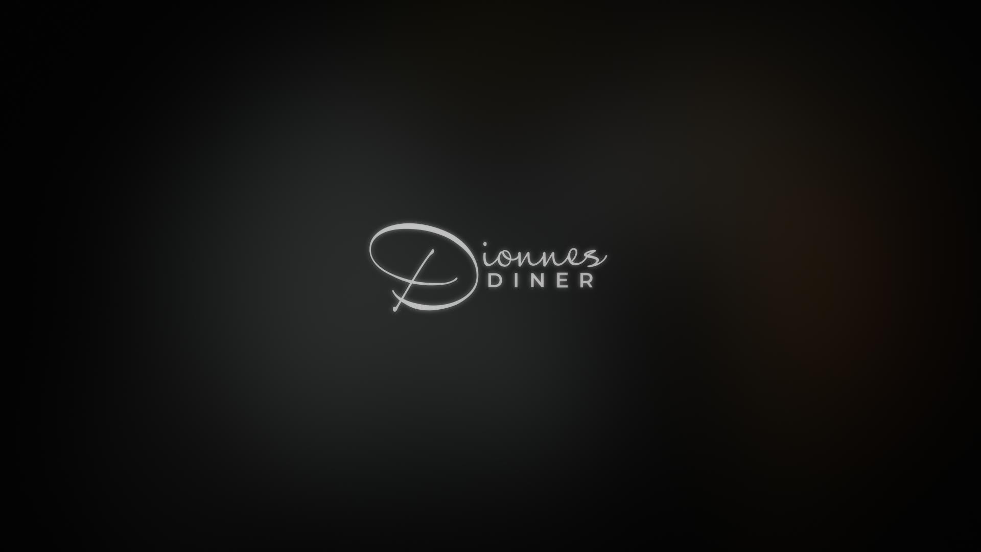 dionnes diner logo design